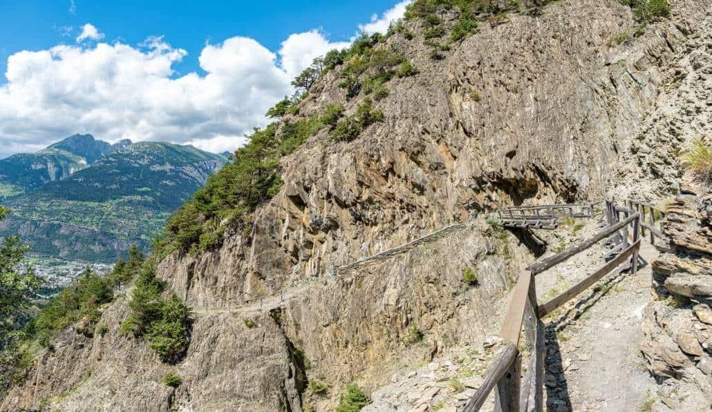 Stockalperweg ViaStockalper Saltinaschlucht