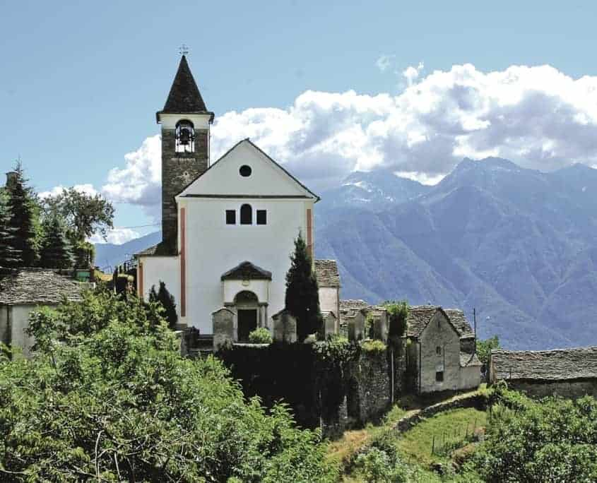 Brig Domodossola ViaStockalper Bognanco Stockalperweg Italien