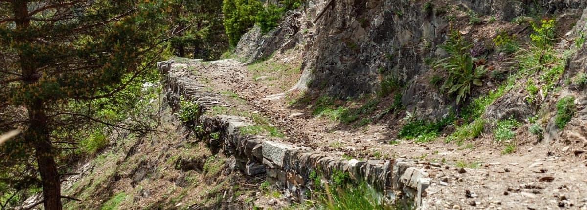 Stockalperweg beim Schlalberg