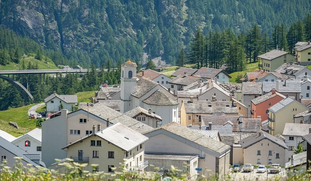 Simplon Dorf