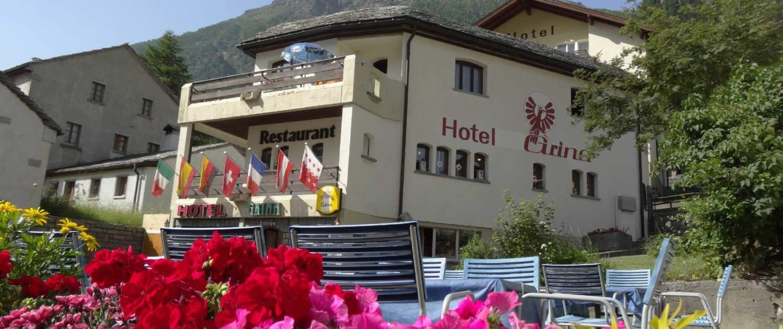 Hotel Grina Simplon